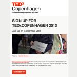TEDxCopenhagen Newsletter